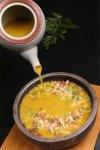 红米入石锅,再浇虾膏汤,米饭也能做成看家菜